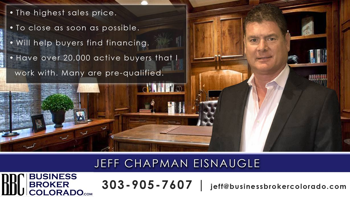 Jeff Chapman Eisnaugle Business Broker